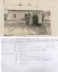 Basteberg med 8 st personer