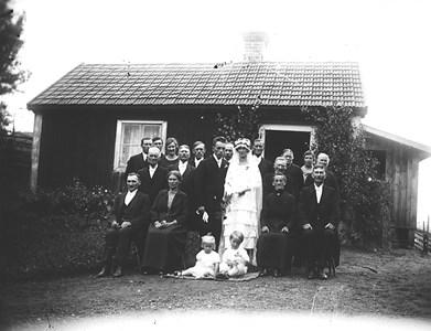 Bränna Bröllop 1926