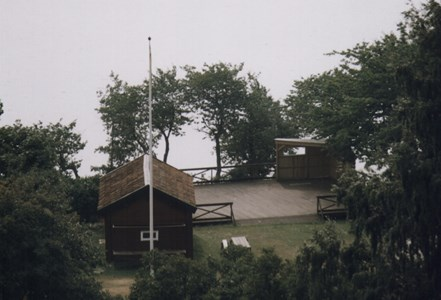 Södra Sand Dansbanan  1997 idag riven
