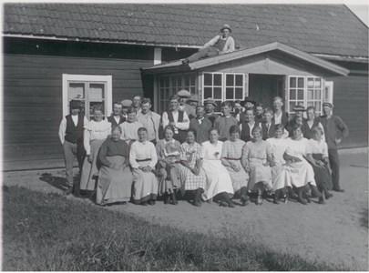 Månhult 1920 talet Slåttergänge
