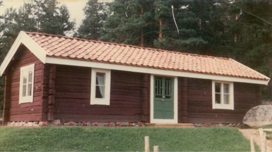 Madstugan nybyggd början 1980-talet