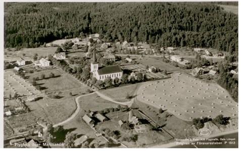 Södra Sand Vykort 1954