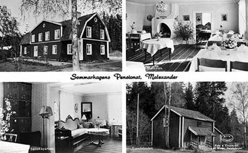 Sommarhagen Vykort