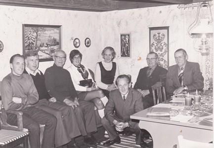 Björnön Hembygdsföreningens styrelsemöte  1973