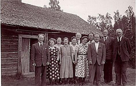 Bouppteckning 1955 efter Kalle i Övrabo