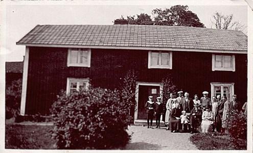 Bjälnäs Kronogård, gamla huset