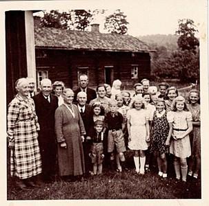 Boende i Bjälnäs 1942