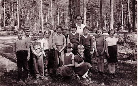 Malexanders Skola 1956 - 1957