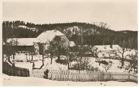 Bålnäs Vykort Vinter