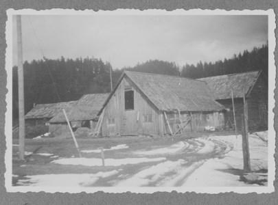 Gamla ladugården Moo Södergård 1949