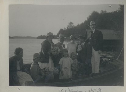 Södra Ekeberg Högsommar 1924