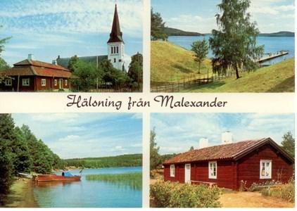 Malexander  1960 talet