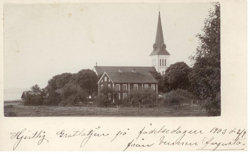 Malexander Kyrka 1903