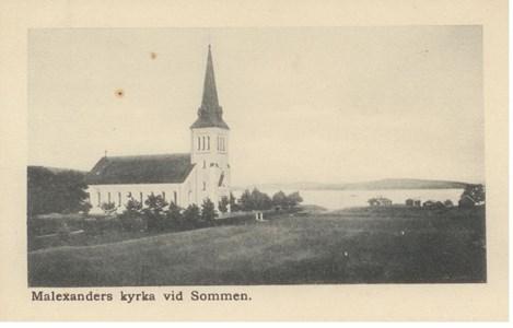 Malexander Kyrka 1910