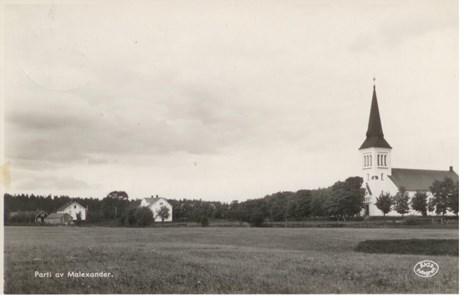 Malexander Kyrka 1943