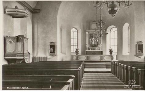 Malexander Kyrka inv 1935