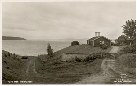 Malexander Södra Sand 1950 talet