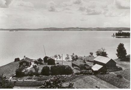 Malexander Södra Sand Från Kykan 1940 talet