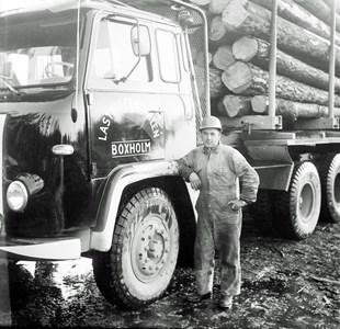 Malexander Stig Karlsson Transport helstamtimmer 1969
