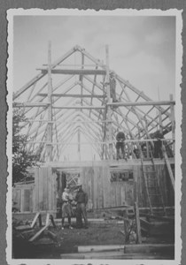 Ny ladugård byggs i Moo Södergård