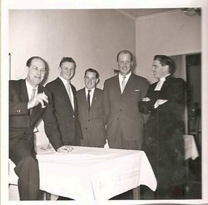 Skärlunda Mellangård Bröllop Ingegerd Karlssons 1958