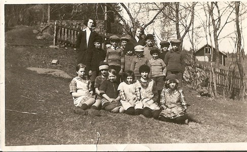 Somviks skola 1920