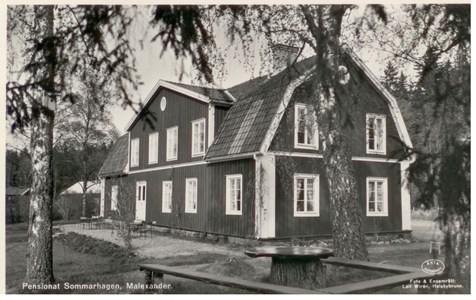 Malexander Pensionat Sommarhagen