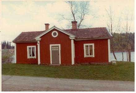 Somviks Gamla Skogsarbetarbostad 1973