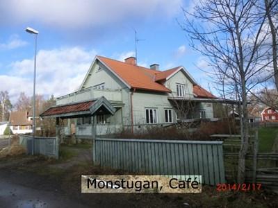 Monstugan, Cafét
