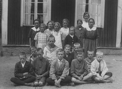 Malexanders skola Tåbo troligen före 1920