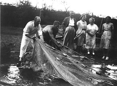 Not fiske i Landsnäs 1932-33