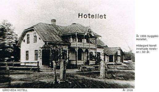 Gårdveda hotell