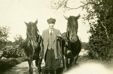 Hästkarl i Notåsa