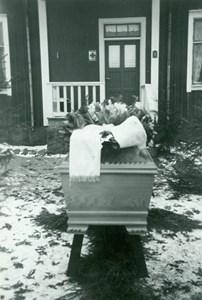 Annas begravning 1953