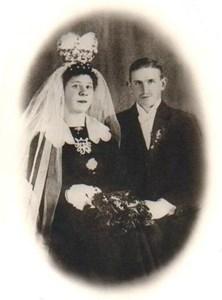 Brudkort Ivan och Elsa Gustavsson