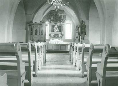 Kyrkointeriör