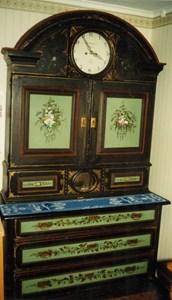 Utsirat klockskåp