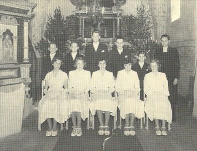 Konfirmationsgrupp 1949