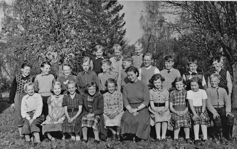 Klassfoto 1953