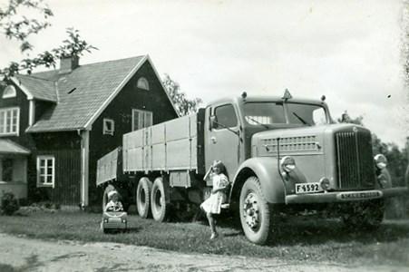Lastbilsåkare Sahlstedt