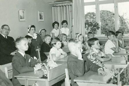 Skolavslutning 1960