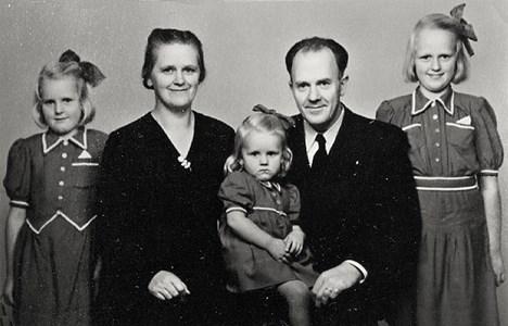 Familjen Samuelsson Råby