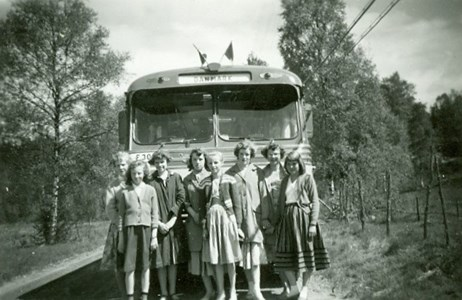 Skolresa 1957