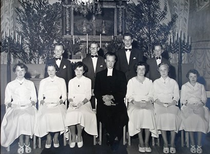Konfirmander 1956