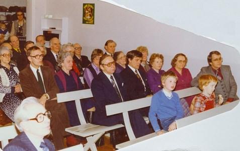 Sista mötet i Missionshuset