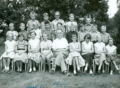 Klassfoto 1955