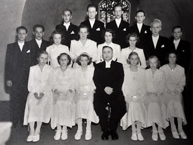 Konfirmander 1949