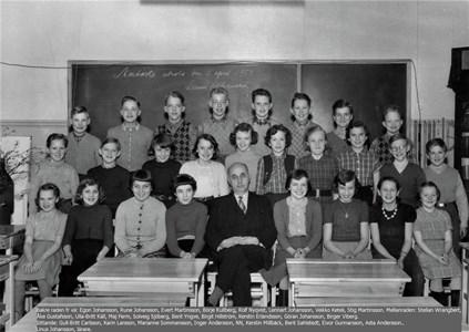 Klassfoto 1954