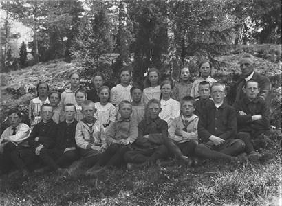 Klassfoto 1912