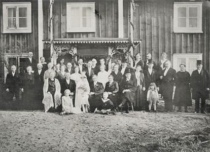Elsa och Hennings bröllop